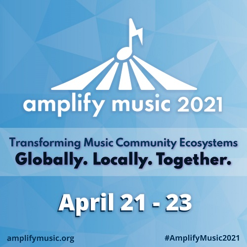Music Forward joins the Amplify Music 2021 Virtual Conference on three panels exploring creative futures of the music industry and our communities.