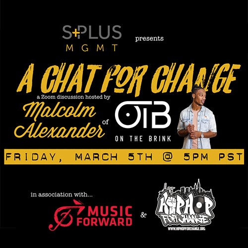 Music Forward joined S+ Mgmt and artists for a conversation on the role of the music industry in social change.