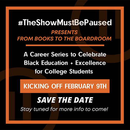 The Show Must Be Paused partnered with Music Forward for their first career series focused on connecting Black industry professionals with students pursuing music industry careers.