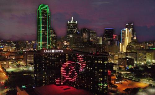 Dallas Skyline Featuring Music Forward